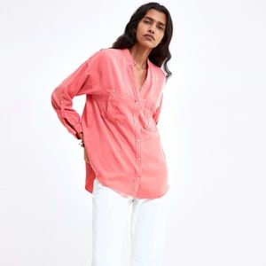 NWT • Zara • Shirt with Pockets